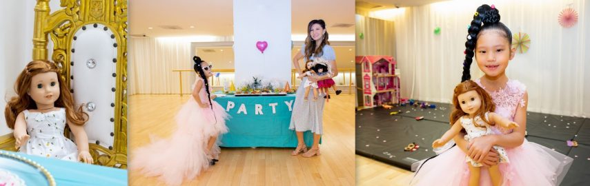 american girl doll party, american girl party, doll themed party