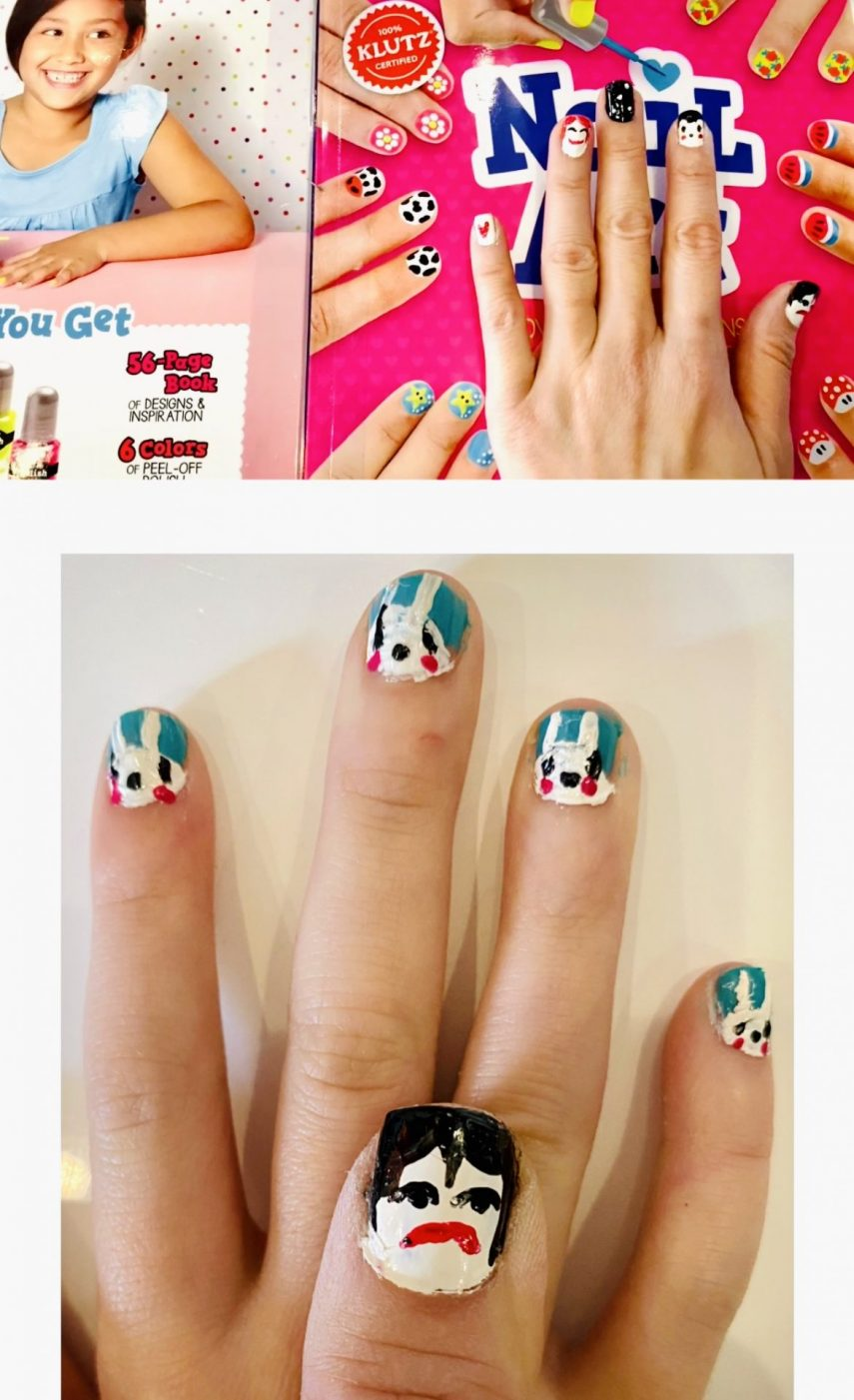 klutz kids, kids nails, kids nail art