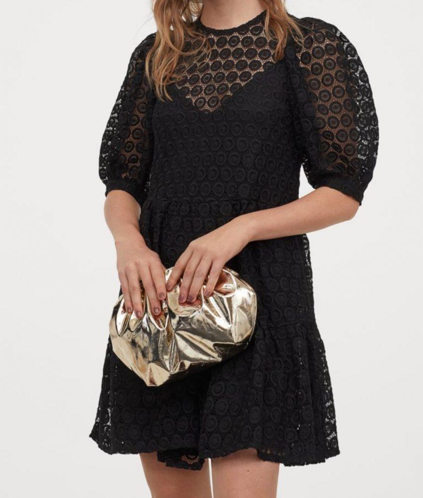 hm dress, black dress, little black dress, summer dresses