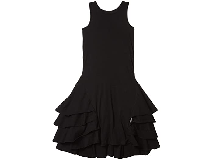 black dress, little black dress for girls, girls black dress, nununu dress