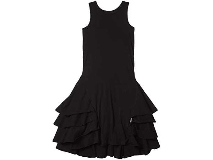 black dress, little black dress for girls, girls black dress, nununu dress