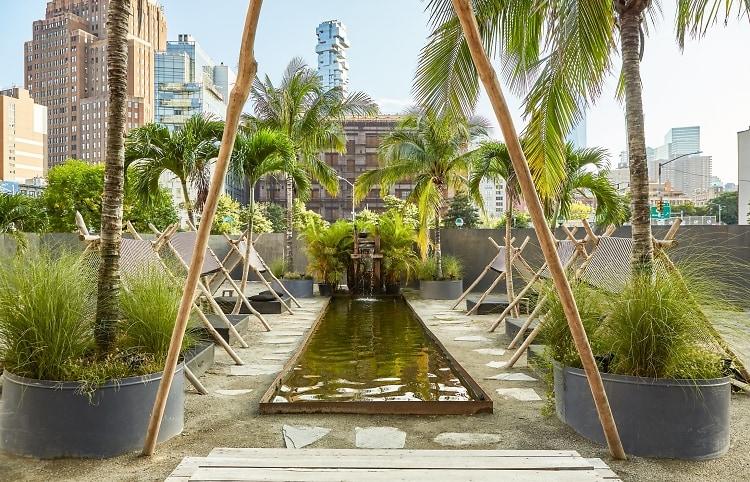 gitano, nyc restaurant, garden of love restaurant, instagrammable nyc, best outdoor dining nyc