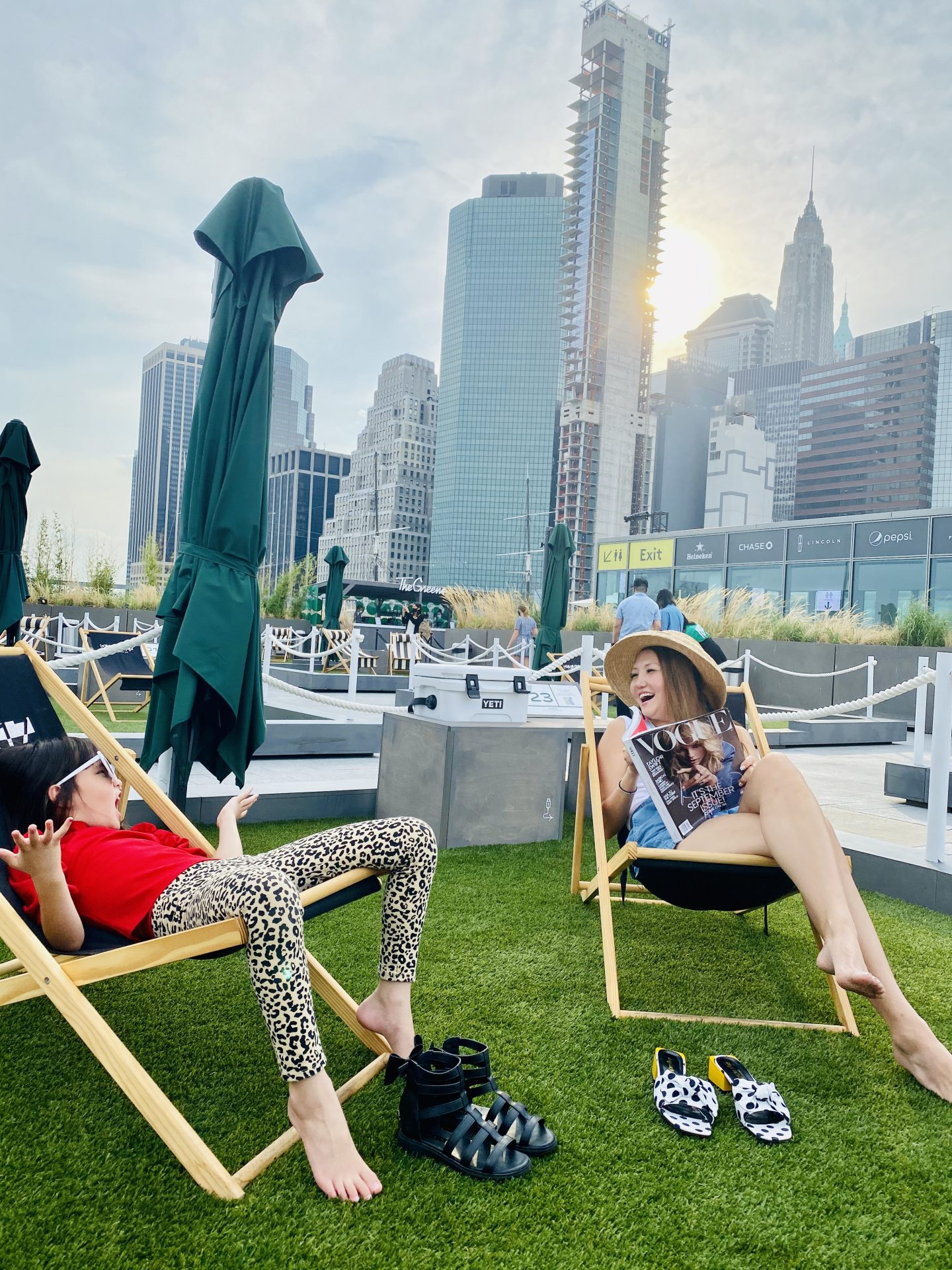 ampia rooftop, best nyc rooftop, best nyc outdoor dining, financial center restaurants, where to eat nyc, instagrammable nyc, the greens