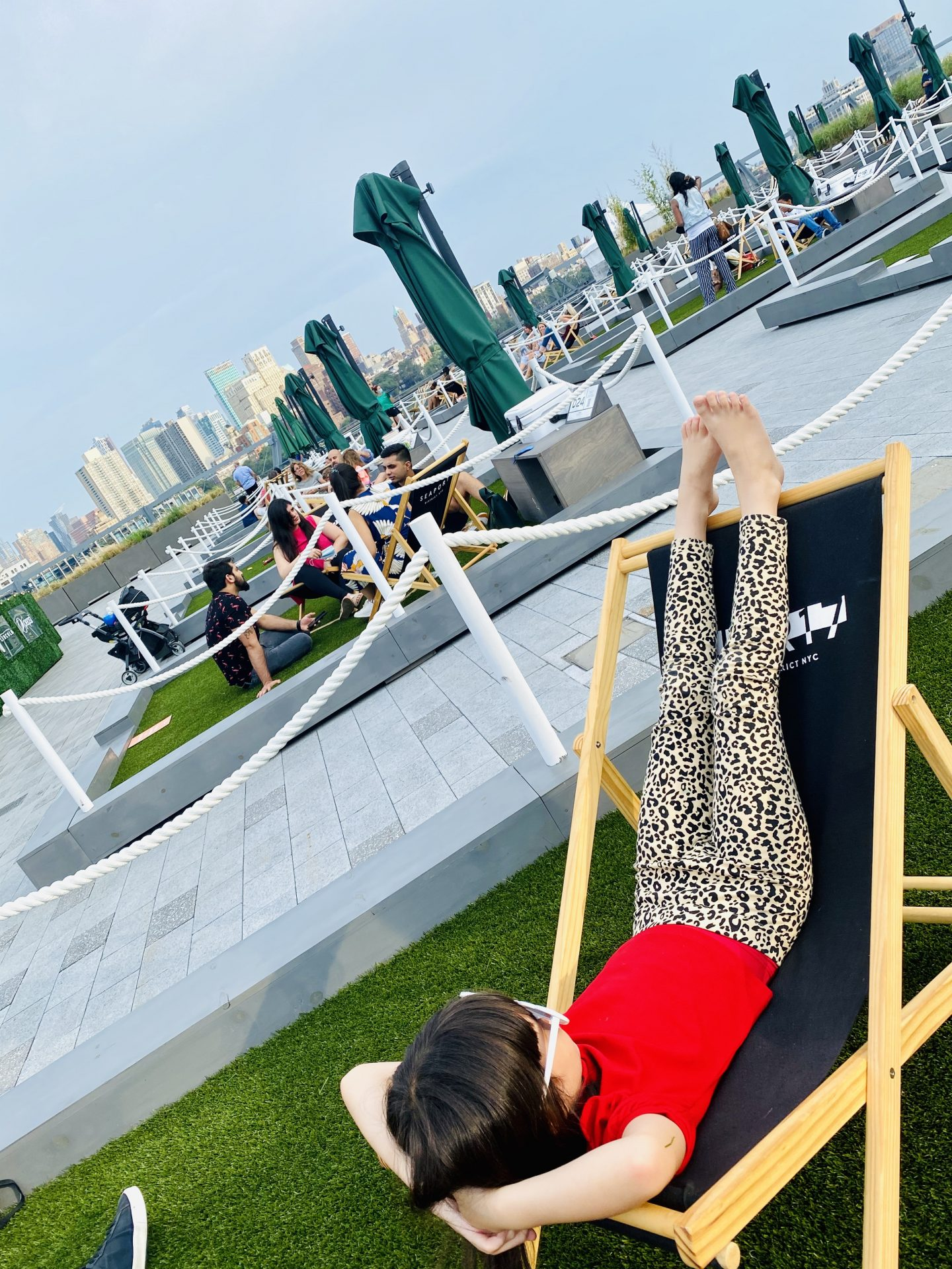 south street seaport, the greens, ampia rooftop, best nyc rooftop, best nyc outdoor dining, financial center restaurants, where to eat nyc, instagrammable nyc