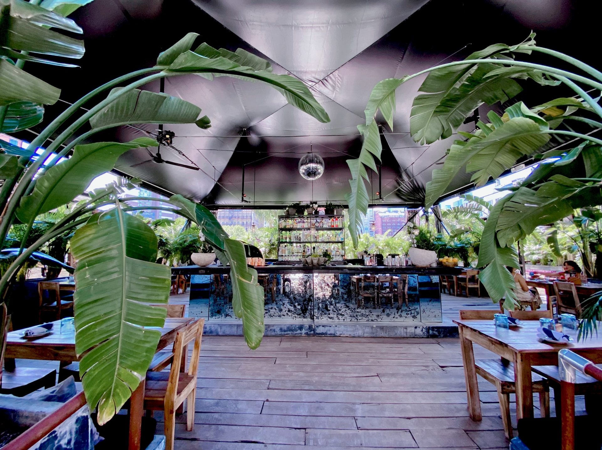 most instagrammable nyc, outdoor dining nyc, best outdoor dining nyc, most instagrammable nyc dining, garden of love, grupo gitano