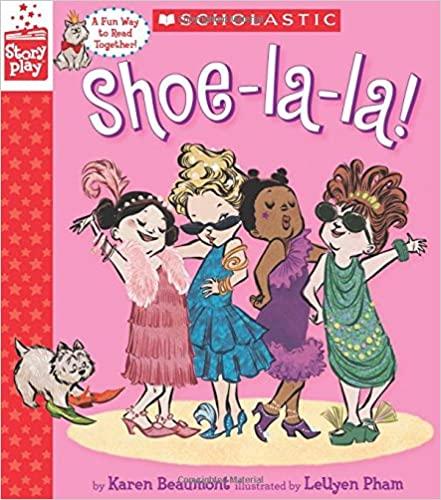shoe la la, toddler books, best fashion books for kids