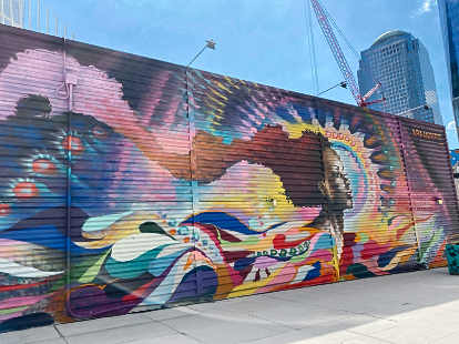 most instagramable new york, instaworthy new york nyc art, nyc street art, best nyc street art, best nyc murals, oculus art
