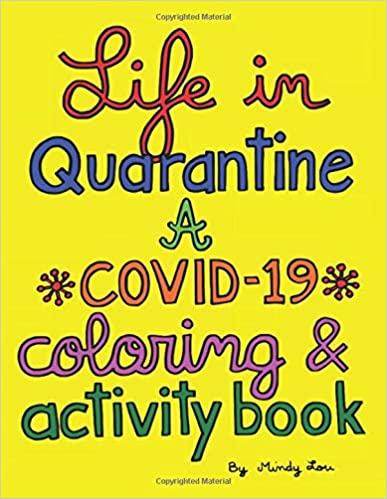 coloring book, christmas gift guide, corona virus christmas