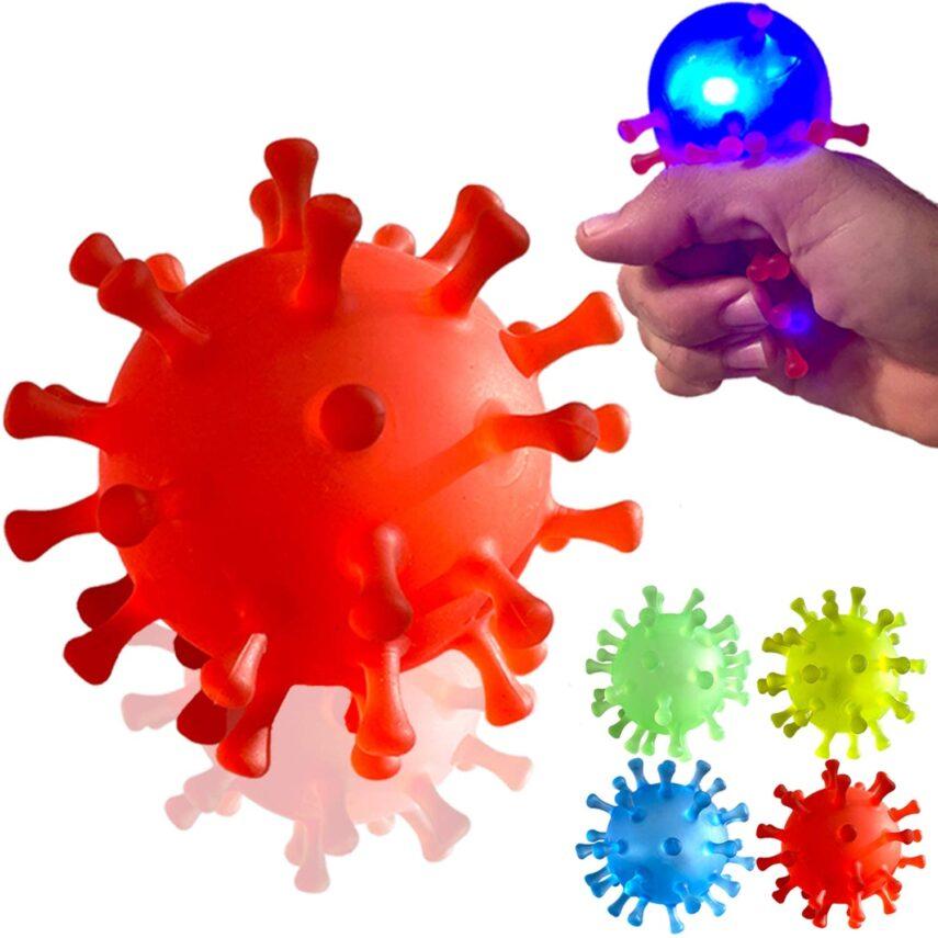 corona virus gift guide, christmas gift guide, corona virus toy, corona virus squishy