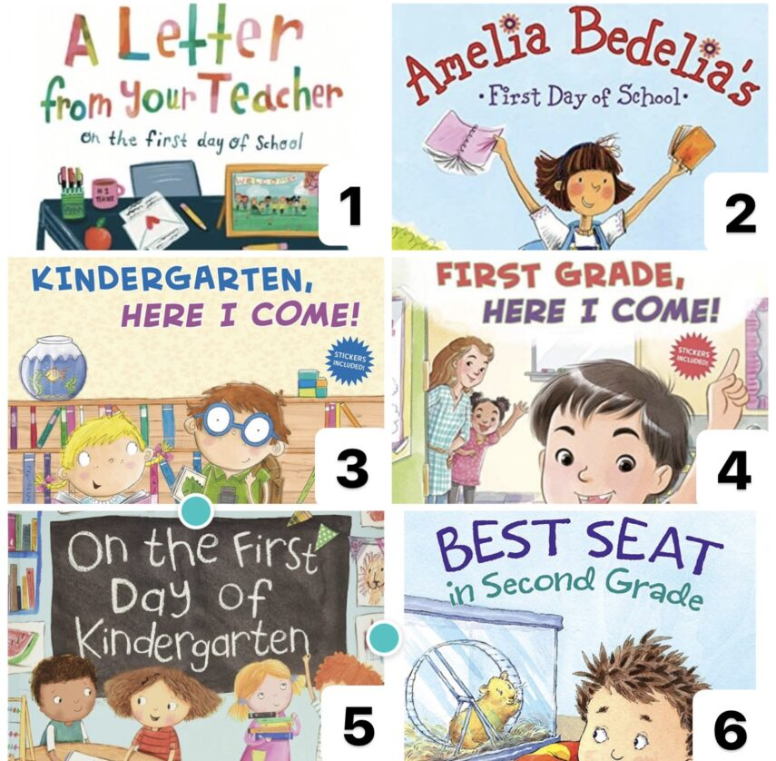 back to school books, best books for kids, first day of school